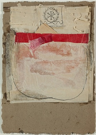 untitled [christian symbol] by robert rauschenberg